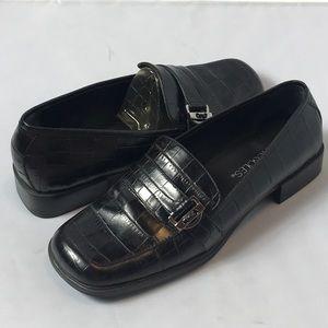 Aerosoles Black Loafers Size 7